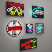 Neons x6 set