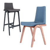 Decanter chair collection
