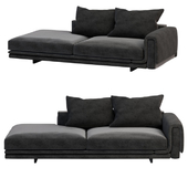 Underline Sofa with chaise longue