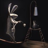 Кролик эквилибрист.