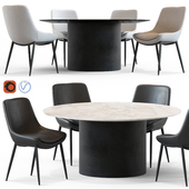 Globewest Pepper Chair and Geo Table