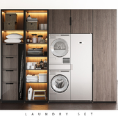 LAUNDRY SET (Poliform FITTED+ASKO)