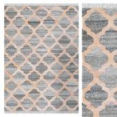 Carpet CarpetVista Kathi - Grey / Coral CVD21040