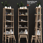Decorative set IKEA VILTO
