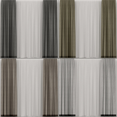 Collection of curtains.