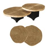 Eichholtz - Coffee Table Thousand Oaks set of 2