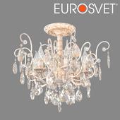 OM Chandelier with crystal Eurosvet 10022/6 Rosita