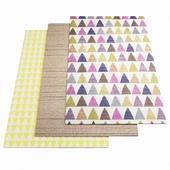Three ASPLUND rugs - 1-12