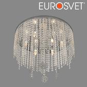 ОМ Потолочная люстра с хрусталем Eurosvet 10083/6 Flower