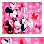 Minnie Mouse Pink Juvenile Area Rug
