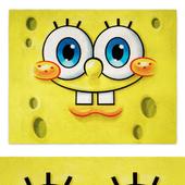 Spongebob Square Pants Multi-Colored Indoor Juvenile Area Rug