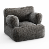 Iced Faux Fur Eco Lounger