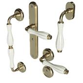Set of door handles Fimet Lady 148