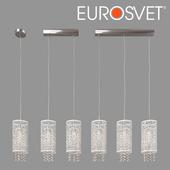 ОМ Подвесной светильник с хрусталем Eurosvet 1181 Laguna