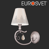OM Wall lamp in a classic style Eurosvet 60069/1 Incanto
