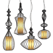 Vintage Cage Pendant Lights