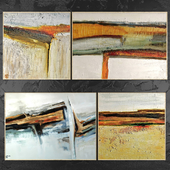 Paintings abstract | set 417