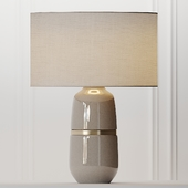 COX & COX Banded Ceramic Table Lamp