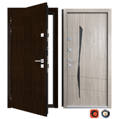 Entrance metal door Next (Your Frame)