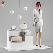 Accessories for boutique. Set 2