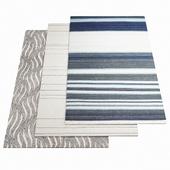 Three ASPLUND rugs - 1-14