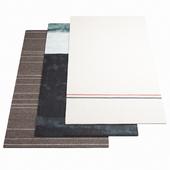 Three ASPLUND rugs - 1-15