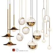 Four Pendant Lights amazing set vol1