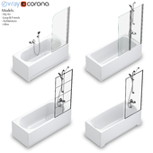 Набор прямоугольных ванн Villeroy & Boch set 58 (Loop & Friends,Architectura,My Art,Libra)