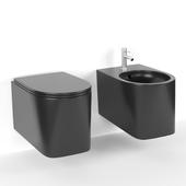 AXA DP Wall-hung WC + Bidet