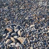 Rocky beach material