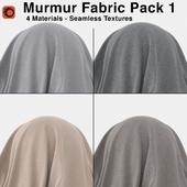 Maharam - Murmur Fabric - Pack 1 (4 Seamless Materials)