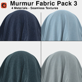 Maharam - Murmur Fabric - Pack 3 (4 Seamless Materials)