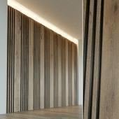 Стеновая панель из дерева. Декоративная стена. 29