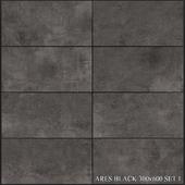 Yurtbay Seramik Ares Black 300x600 Set 1