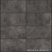 Yurtbay Seramik Ares Black 300x600 Set 2