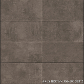 Yurtbay Seramik Ares Brown 300x600 Set 2