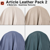 Maharam - Article Leather - Pack 2 (4 Seamless Materials)