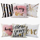 Loft concept - Decorative Pillows set 4