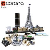 LEGO Paris # 21044