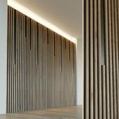 Стеновая панель из дерева. Декоративная стена. 30