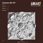 www.dikart.ru DS-361 131x131x30mm 08/30/2019