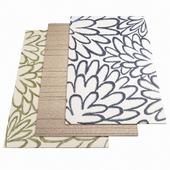 Three ASPLUND rugs - 1-19
