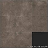 Yurtbay Seramik Ares Brown 600x600