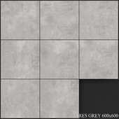 Yurtbay Seramik Ares Gray 600x600