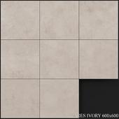 Yurtbay Seramik Ares Ivory 600x600