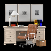 Office Furniture Set 01