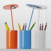 Formagenda ET Aluminum Table lamp - Pen Holder