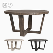 Restoration Hardware ANTOCCINO ROUND DINING TABLE