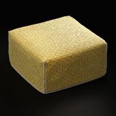 GAN SILAI orange pouf