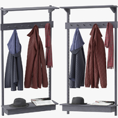 Unit Coat Rack by Stattmann